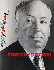 "ALFRED HITCHCOCK Signed Autograph RP 8.5 x 11"" Photo THE BIRDS PSYCHO"