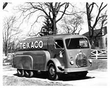 1941 GMC COE Texaco Tank Truck Factory Photo u827-BZY72H