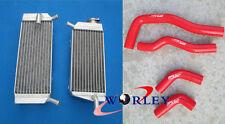 Honda CRF450X  2005 2006 2007 2008 2009 05 Aluminum radiator&silicone hose
