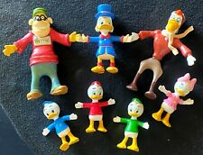 Disney's Ducktails Scrooge McDuck Family and Friends Bendable Figures RARE Set!