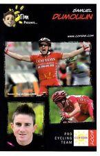 CYCLISME carte cycliste SAMUEL DUMOULIN équipe COFIDIS 2009