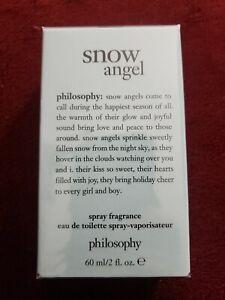 Philosophy Holiday Snow Angel eau de Toilette Spray Fragrance Sealed- 60 ml/2 oz