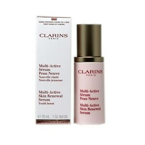 CLARINS MULTI-ACTIVE SKIN RENEWAL SERUM YOUTH BOOST 30 ML/1 FL.OZ. NIB