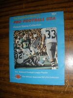 1972 Wonderful World of Football Stamps Wrapper 1971 Super Bowl Picture  NrMt