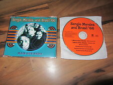 SERGIO MENDES BRASIL 66 Mais Que Nada RARE EUROPEAN Promo CD single