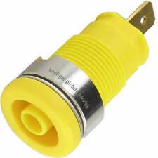 Sicherheits Buchse Hirschmann SEB2610 gelb max. 25 A 5 mΩ berührungsgeschützt