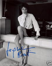 JACQUELINE BISSET.. Breathtaking Beauty (Barefoot) SIGNED