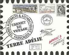 Timbres TAAF C308 (308/21 ** x2) en livret année 2001 lot 27098 - cote : 100 €