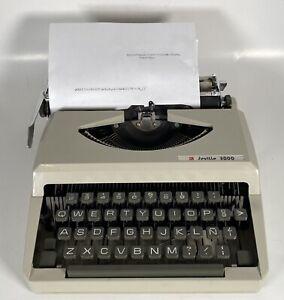 Vtg Konryu Seville 3000 Compact Portable Manual Typewriter w/ Case Rare Japan