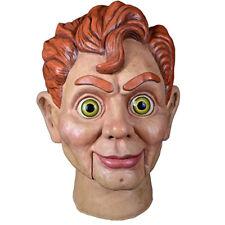 Trick or Treat Goosebumps Slappy the Dummy Realistic Halloween Mask