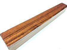 "Honduran Granadillo wood turning blank 1-1/2"" x 1-1/2"" x 12"" Maca wood (#1)"