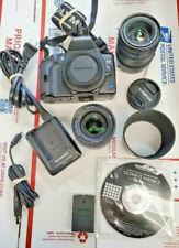 Olympus EVOLT E-620 12.3MP Digital SLR Camera - Black (Kit w/ 14-42mm  40-150mm