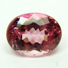Natural pink tourmaline, 2.70ct 7x10x5mm, oval, clean small inclusion, Brazil  M