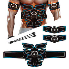 A-TION EMS Muscle Stimulator 8 Pads Abdominal Muscle Toner Fitness Training 6 Mo