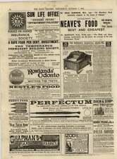 1891 Chapman Fabrics Old Soak Shop Henry Pease Darlington Dress Fabrics