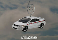 Custom 2010 Honda Civic Si Christmas Ornament 1/64th Scale Adorno Racing