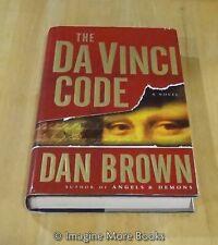 The Da Vinci Code by Dan Brown ~ Robert Langdon: Book 2 ~ Hardcover