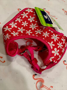 Pink daisy Puppy XXS dog Harness NEW Teacup Breed