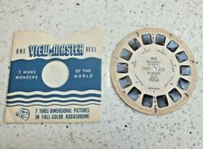 Wild Animals Of Africa I In Captivity 1949 Viewmaster Reel 910 Rare X120