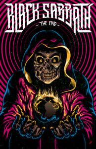 "Black Sabbath ""The End"" Tour Ozzy Osbourne 11x17 Quality Reprint Poster"