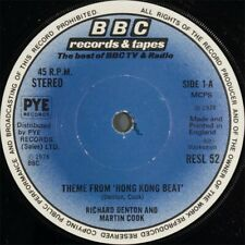 "Richard Denton And Martin Cook** - Theme From ""Hong Kong Beat"" (7"", Sol)"
