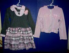Girl's Dress sz 6 - Pink Zip Front Hoodie sz 6