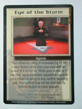 1999 Babylon 5 Ccg - Severed Dreams - Rare Card - Eye Of The Storm