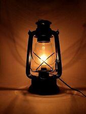 Metal Electric Hanging Lantern Decor (Black)