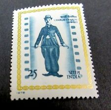 India, 1978 Charlie Chaplin Issue. Very Fine Mint Never Hinged