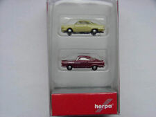 Herpa 065757-003 passenger cars set NSW Sport Prinz, greenbeige / winered spur N
