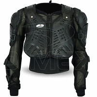Motocross Motorbike Body Armour Motorcycle Protection Guard Jacket Black Dimex