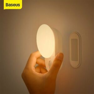 Baseus LED Wireless Night Light Magnetic Hanging Touch Sensor USB Table Lamp