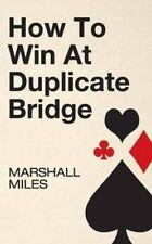 vintage How To Win At Duplicate Bridge (1963) PB by Marshall Miles card games
