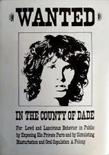 DOORS, THE - JIM MORRISON - Musik - Plakat - Wanted - Poster