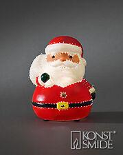 Konstsmide LED Fiberoptik Weihnachtsmann Nikolaus Fiberoptikfigur 3347-550