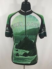 Dolmen Clothing Mens Large Ireland Wild Atlantic Way Cycling Jersey Shirt Bike