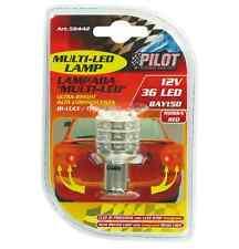 Lampada Multi-Led 36 led 12V P21/5W BAY15d 1PZ D/Blister Rosso COD.58442