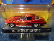 GREENLIGHT 2009 MUSCLE CAR GARAGE UP IN FLAMES SERIES 2, 1967 CHEVY CORVETTE
