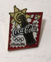 Collectible Coca-Cola Coke Bottle Atlanta 1996 Olympic Lapel Pin Summer Games