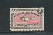 A9 - WESTERN CANADA AIRWAYS SEMI OFFICIAL STAMP, Mint