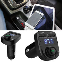 New Dual USB Charger Wireless Bluetooth Car MP3 Player FM Transmitter Radio LCD