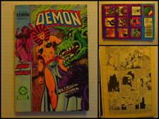 Démon avec Arion & Warlord. N° 16 du 08/1987. DC Arédit