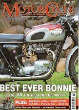 Classic Motorcycle May 06  Mondial Racer   Triumph T120 Bonneville   Ariel NG