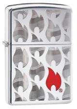 Zippo Windproof Flames Design Lighter, Choice Collection 29678, New In Box