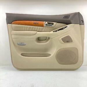 2003-2007 LEXUS GX470 FRONT LEFT DRIVER SIDE INTERIOR DOOR PANEL COVER TRIM OEM