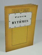 """FAGUS [Faillet Georges] """"Rythmes"""" 1926 EO 1/200 ex. Hollande de Rives"""