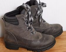 EUC KEEN Women's 200g Insulated KEEN WARM Waterproof Winter Boots Size 7 Grey