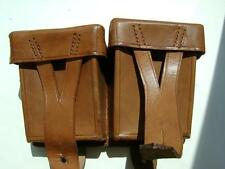 Rus Soviet Army MOSIN leather bag amunition 1950-s by reparation Germany