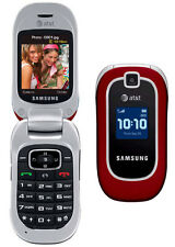 Samsung SGH A237 - Red (AT&T) Cellular Phone FOR PARTS ONLY
