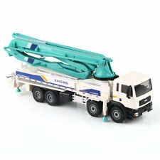 1 55 Scale Diecast Concrete Pump Truck Construction Vehicle Car Model by KDW Toy
